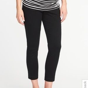 Old Navy Fully Panel Pixie Pant Black
